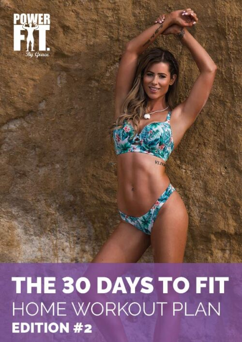 powerfit 30 day to fit home workout plan e-book