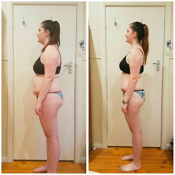 Body Transformation client 2