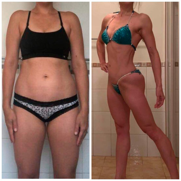 Body Transformation client 4