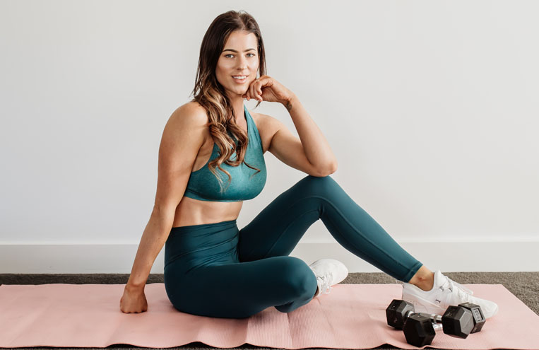 powerfit home workout booty band feature image