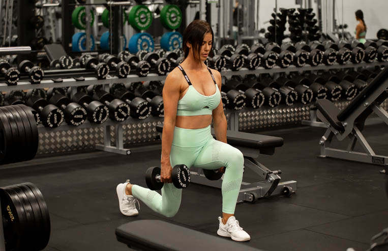 powerfit home lower body advanced & core feature image