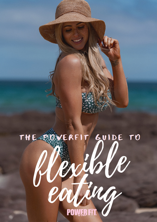 powerfit guide to flexible eating ebook cover product